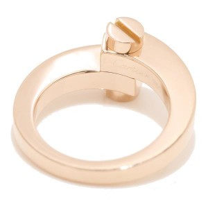 Cartier Menotte 18K Pink Gold Ring Size 8.5