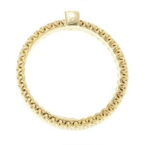 Tiffany Co. Somerset 18K Yellow Gold & Diamond Ring Size 5.5