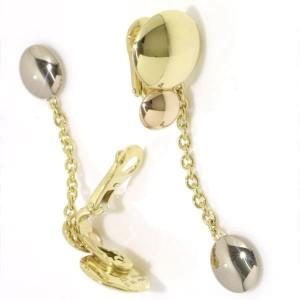 Cartier Sweet Trinity 18K Yellow, White & Pink Gold Earrings