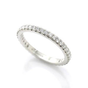 Tiffany & Co. Platinum with 0.30ct. Diamond Band Ring Size 3.5