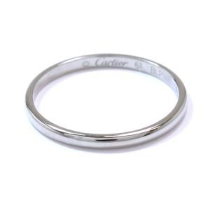Cartier 950 Platinum Classic Ring Size 9.5