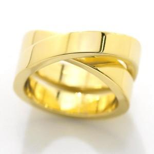 Cartier 18K Yellow Gold Paris Ring Size 4