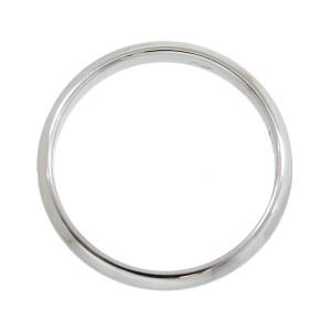 Cartier 950 Platinum Classic Ring Size 5.25