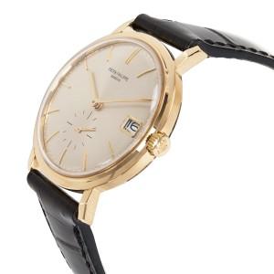 Patek Philippe Calatrava 3445J Vintage 35mm Mens Watch