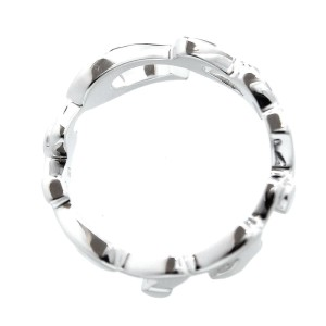 Cartier 18K White Gold Ring Size 6