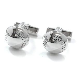 Louis Vuitton 925 Sterling Silver Button du Manchette Crew Cufflinks