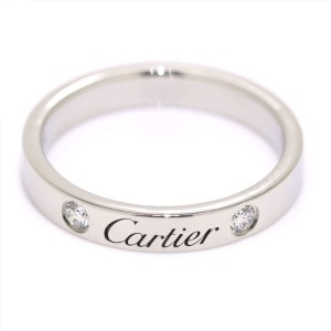 Cartier Ring Platinum with 0.07ctw Diamond Size 5.75