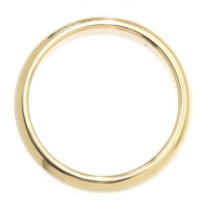 Tiffany & Co 18K Yellow Gold Wedding Band Ring Size 9.5