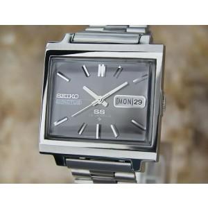 Seiko Actus 5 Vintage 34mm Mens Watch