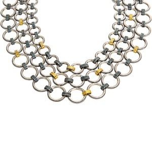 Gurhan Hoopla 24K Yellow Gold Sterling Silver Necklace