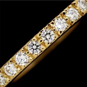 Tiffany & Co. Novo 18K Rose Gold Diamond Ring Size 4.5