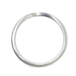 Cartier Ballerine Ring Platinum Diamond Size 4.5