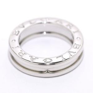 Bulgari B.zero1 18K White Gold Ring Size 3