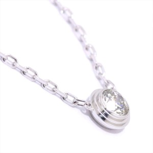 Cartier Diamants Legers Necklace 18K White Gold Diamond