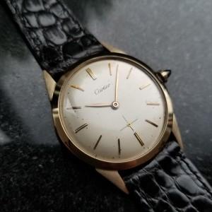 Cartier Vintage 34mm Mens Watch