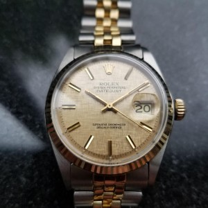 Rolex Datejust 1601 Vintage 36mm Mens Watch