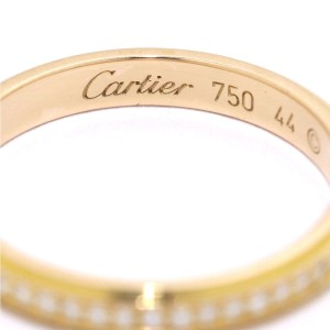 Cartier D'amour Ring 18K Rose Gold Diamond Size 3