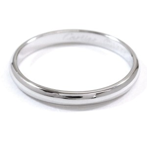 Cartier Ring Platinum Size 7.5