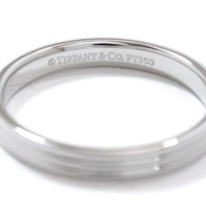 Tiffany & Co. 950 Platinum Ring Size 9.5