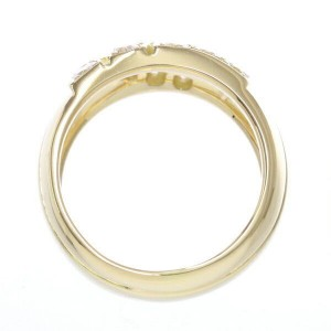 Cartier Ring 18K Yellow Gold Diamond Size 6