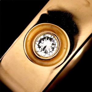 Cartier Love Earrings 18K Rose Gold Diamond