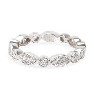 Tiffany & Co. Jazz Platinum Diamond Ring Size 5.25
