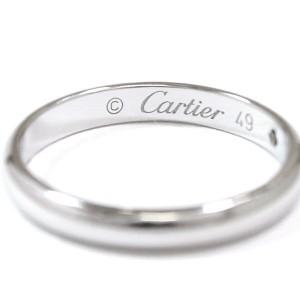 Cartier Classic Ring Pt950 Platinum Diamond Size 4.75