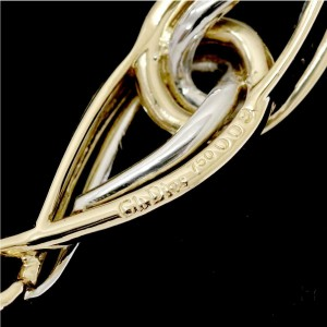 Christian Dior 18k White and Yellow Gold Bracelet