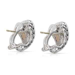 John Hardy 22K Yellow Gold Sterling Silver Earrings