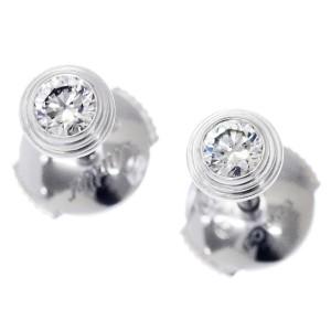 Cartier Diamant Leger Earrings 18K White Gold Diamond
