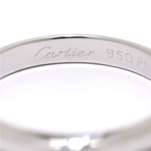 Cartier Declaration Ring Platinum Size 8.25