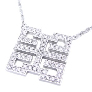 Cartier Necklace 18K White Gold Diamond