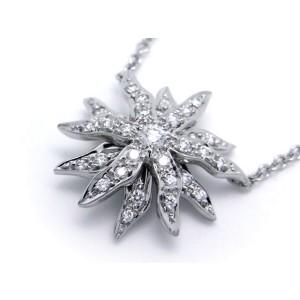 Tiffany & Co. 950 Platinum Diamond Necklace