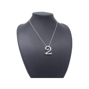 Franck Muller 18K White Gold Talisman Pendant Necklace