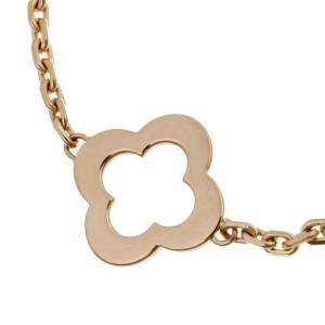 Van Cleef & Arpels Byzantine Alhambra 18K Rose Gold Bracelet