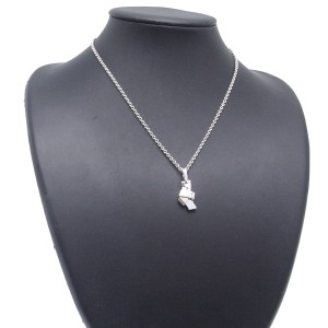 Cartier Necklace 750 White Gold Diamond