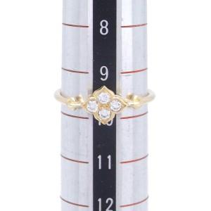 Cartier Hindu Ring 18k Yellow Gold Diamonds Size 5.25