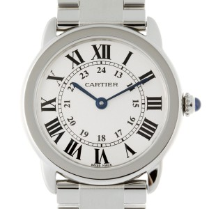 Cartier Ronde Solo W6701004 29mm Womens Watch