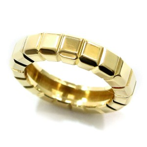 Chopard Ice Cube 18K Yellow Gold Ring Size 4.5
