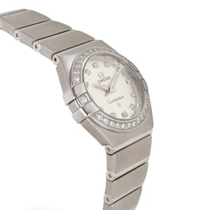 Omega Constellation 123.15.24.60.52.001 24mm Womens Watch