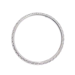 Tiffany & Co. 18K White Gold Diamond Ring Size 6