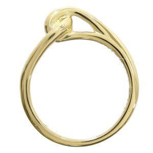 Tiffany & Co. 18K Yellow Gold Knot Ring Size 5.5
