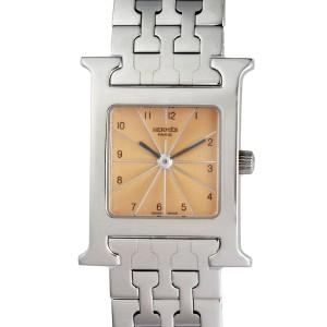 Hermes H HH1.210.461/4804 21mm Womens Watch