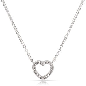 Tiffany & Co. 18K White Gold Diamond Necklace