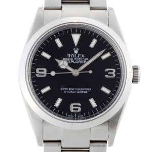 Rolex Explorer I 114270 35mm Mens Watch