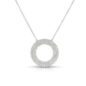 Tiffany & Co. 18K White Gold Diamond Necklace