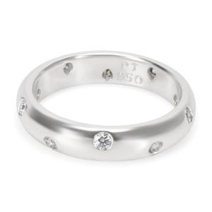 Tiffany & Co. Platinum Diamond Ring Size 5.75