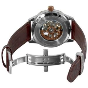 Stuhrling Cesario 227.3365U59 Stainless Steel & Leather 43mm Watch
