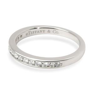 Tiffany & Co. Channel Set Diamond Band in  Platinum 0.15 CTW