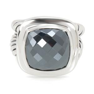 Sterling Silver David Yurman Hematite Albion Ring